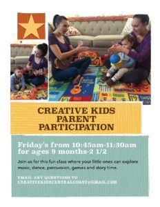 Creative Kids Parent Participation